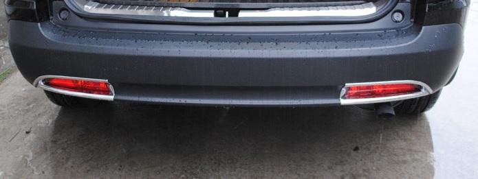 Купить со скидкой Накладки на задние ПТФ Honda CR-V 4 2012+
