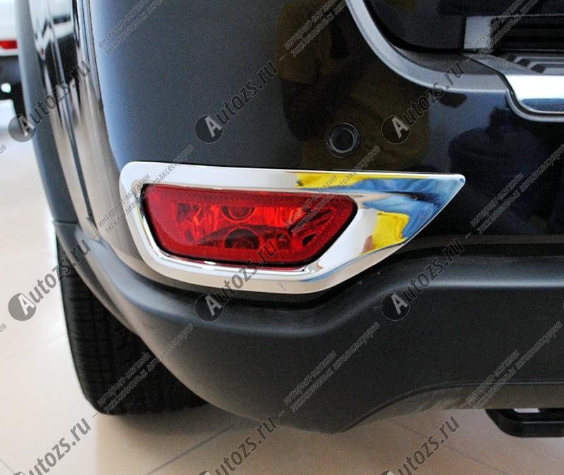 Накладки на задние ПТФ Jeep Grand Cherokee WK2 2010-2013