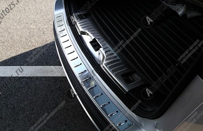Накладка на задний борт багажника Ford Edge 2 2015+