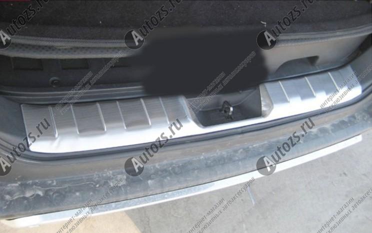 Накладка на задний борт багажника Nissan X-Trail T31 2007-2015