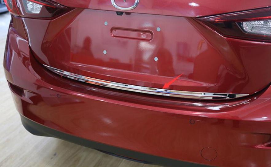 Купить Хромированная накладка на кромку двери багажника Mazda 6 GJ 2012+ B
