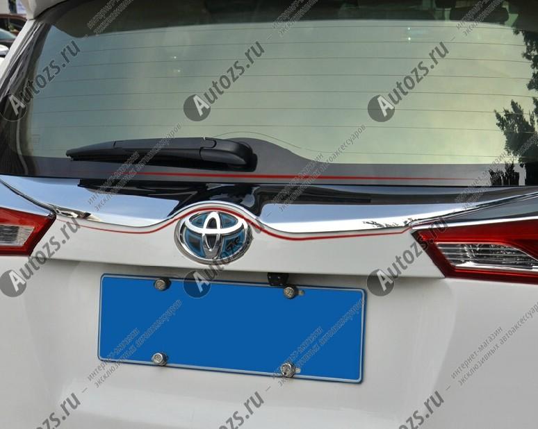 Купить Хромированная накладка на дверь багажника Toyota Rav 4 CA40 2013-2015 B