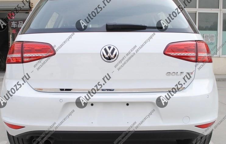 Купить Хромированная накладка на кромку двери багажника Volkswagen Golf 7 2013+