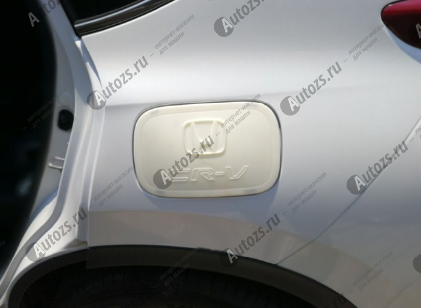 Хромированная накладка на крышку бензобака Honda CR-V 5 2016+Хромированные накладки Chery Tiggo<br>Если вы ищете накладку на крышку бензобака для Cherry Tiggo, то это то что вам нужно. Крышка выполнена из прочного и надежного материала (ABS-хром), а также в практичном и элегантном дизайне, который не нарушит цельность диза...<br>