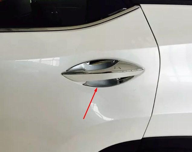 Купить со скидкой Накладки для ниш дверных ручек Lexus RX 4 2015+