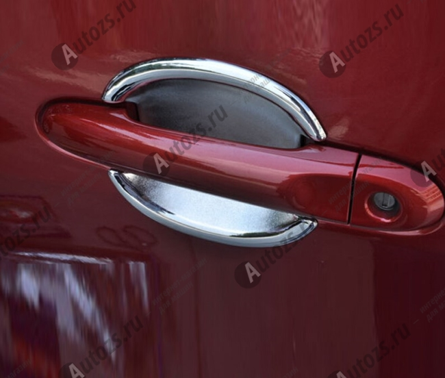 Купить со скидкой Накладки для ниш дверных ручек Nissan Juke YF15 2010-2015