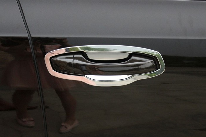 Накладки для ниш дверных ручек Skoda Octavia A7 2013+