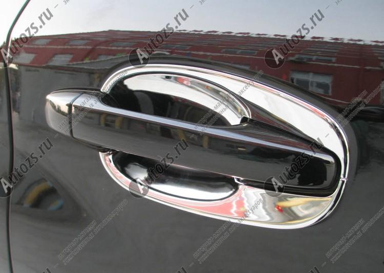 Купить со скидкой Накладки для ниш дверных ручек Subaru Forester SJ 2013+