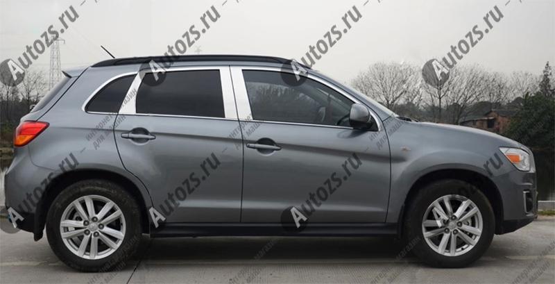 Молдинги окон Mitsubishi ASX 2013+ (18 молдингов)Хромированные накладки Mitsubishi ASX<br>Молдинги относятся к наиболее распространенным элементам внешнего автомобильного тюнинга. Аксессуары выполняются в виде небольших выпуклых планок для декорирования боковых окон автомобиля. Накладки на окна двер...<br>