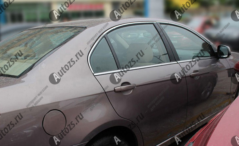 Молдинги окон Chevrolet Epica 1 2006-2012 (6 молдингов)Хромированные накладки Chevrolet Epica<br>Молдинги относятся к наиболее распространенным элементам внешнего автомобильного тюнинга. Аксессуары выполняются в виде небольших выпуклых планок для декорирования боковых окон автомобиля. Накладки на окна двер...<br>