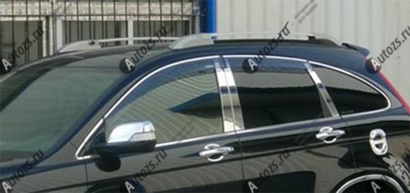 Молдинги окон Honda CR-V 3 2007-2012 (6 молдингов)Хромированные накладки Honda CR-V<br>Молдинги относятся к наиболее распространенным элементам внешнего автомобильного тюнинга. Аксессуары выполняются в виде небольших выпуклых планок для декорирования боковых окон автомобиля. Накладки на окна двер...<br>
