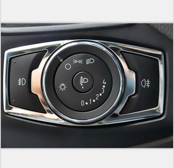 Декоративная накладка на левую консоль салона Ford Mondeo 5 2015+Хромированные накладки Ford Mondeo<br>Доставка по всей России, возможность оплаты при получении....<br>