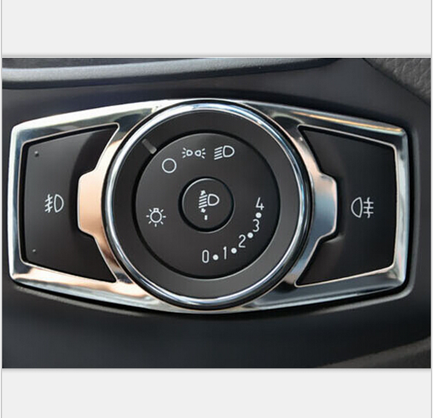 Декоративная накладка на левую консоль салона Ford Mondeo 5 2015+
