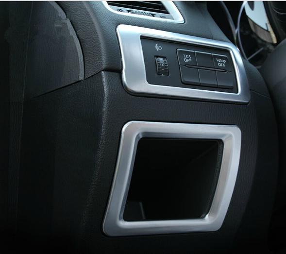 Декоративная накладка на левую консоль салона Mazda CX-5 1 2011+Хромированные накладки Mazda CX-5<br>Доставка по всей России, возможность оплаты при получении....<br>