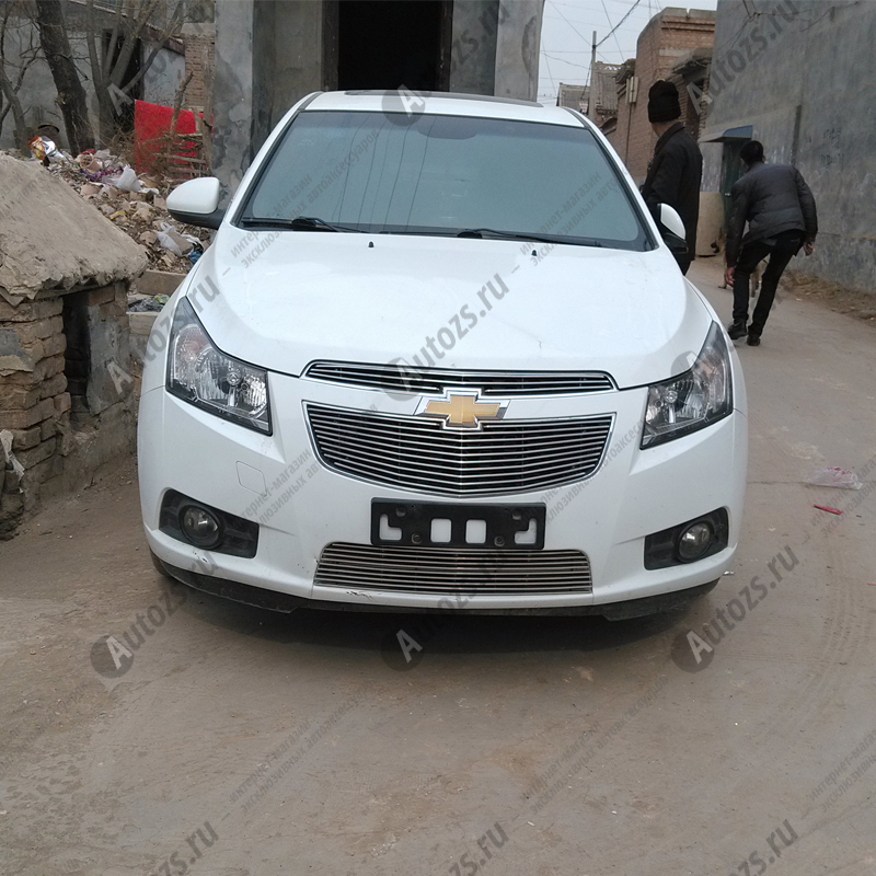 Хром решётка радиатора Chevrolet Cruze 1 2009-2012