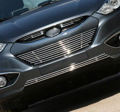 Хром накладка на решетку радиатора верхняя Dodge Caliber