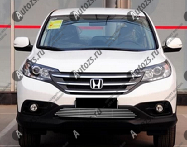 Хром решетка радиатора Honda CR-V 4 2012+Хромированные накладки Honda CR-V<br>Декоративные хром решетки разработаны специально для установки на автомобиль Honda CR-V они придают транспортному средству завершенный, уникальный образ и обеспечивают защиту установленной заводской решетки радиато...<br>