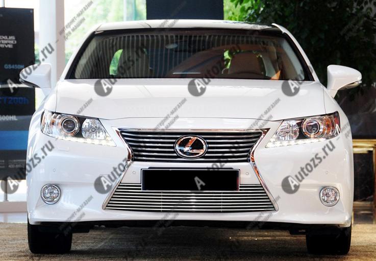 Хром решетка радиатора Lexus ES 6 2012+