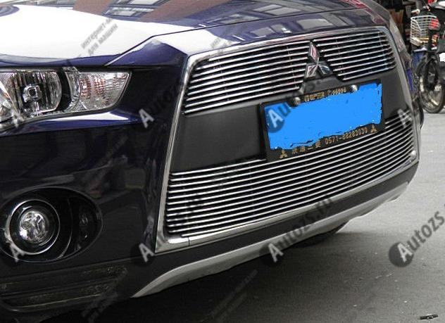 Купить Хром решетка радиатора Mitsubishi Outlander 2 2010-2012