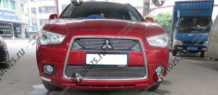 Купить Хром решетка радиатора Mitsubishi ASX 2010-2013