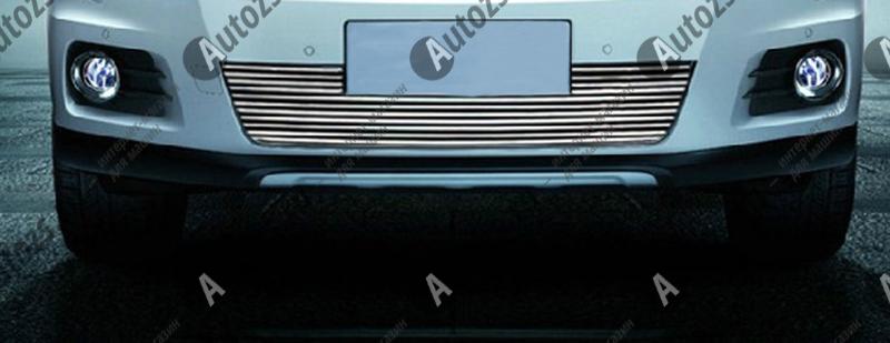 Хром решетка радиатора Volkswagen Tiguan 1 2011-2015Хромированные накладки Volkswagen Tiguan<br>Декоративные накладки разработаны специально для установки на решетку радиатора автомобиля Volkswagen Tiguanони придают транспортному средству завершенный, уникальный образ и обеспечивают защиту установленной заводско...<br>