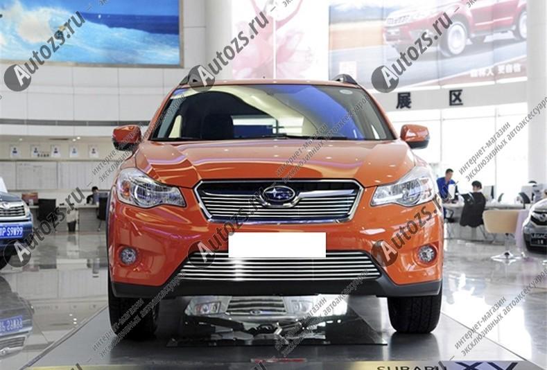 Купить Хром решетка радиатора Subaru XV 2011+