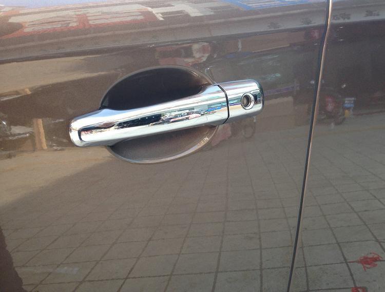 Накладки на дверные ручки Volvo XC60 1 2008+Хром накладки на ручки<br>Хромированные аксессуары используются для установки на ручки дверей и декоративного оформления других деталей кузова автомобиля. Накладки также выполняют защитную функцию, предотвращая возникновения мелких цара...<br>