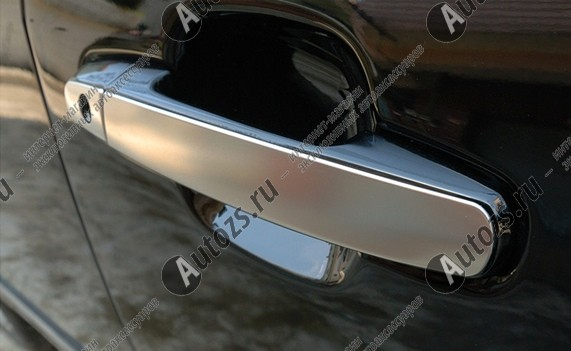Купить со скидкой Накладки на дверные ручки Chery Tiggo T11 2005-2013 стальные