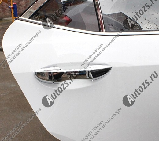 Накладки на дверные ручки Toyota Corolla E160 2013+
