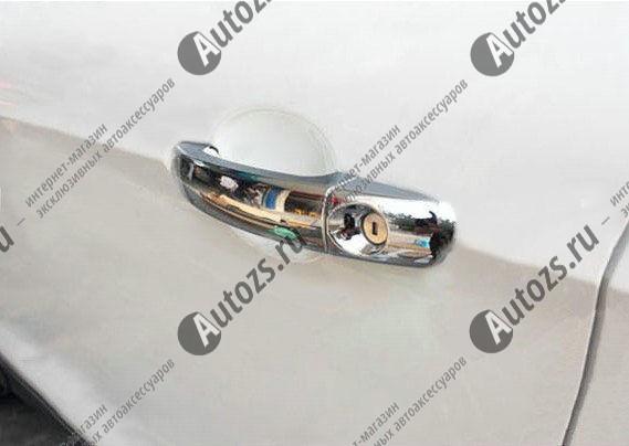 Купить со скидкой Накладки на дверные ручки Ford Kuga 1,2 2008+
