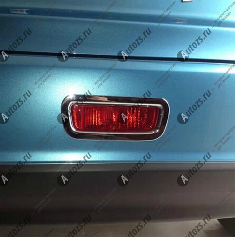 Накладка на фонарь стоп-сигнал Mitsubishi ASX 2013+Хромированные накладки Mitsubishi ASX<br>Установка накладок на стоп-сигнал является популярным среди автолюбителей способом внешнего тюнинга автомобилей. Стильные и надежные аксессуары не только служат оригинальными декоративными элементами дизайна, н...<br>