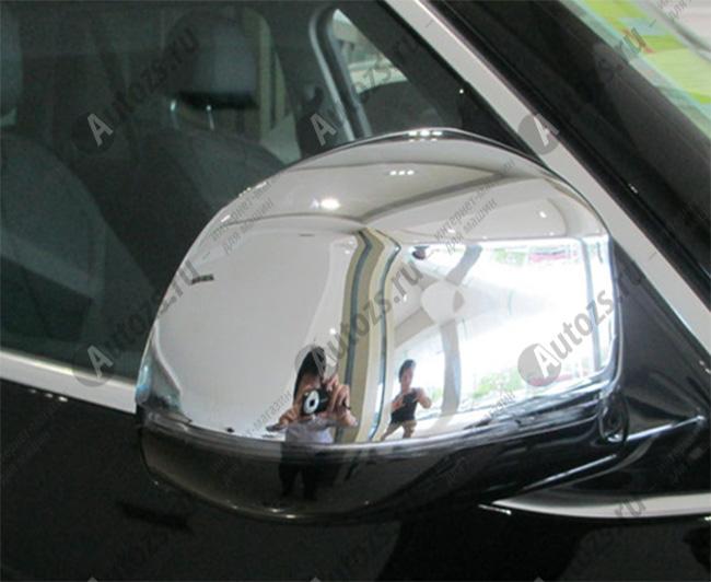 Купить Накладки на зеркала заднего вида BMW X4 2014+