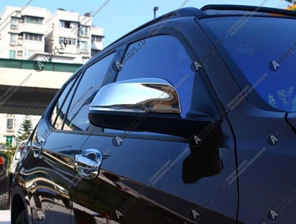 Накладки на зеркала заднего вида BMW 3 F30, F31, F34 2011+