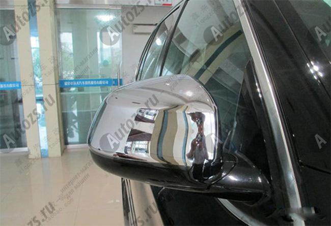 Накладки на зеркала заднего вида BMW X5 F15 2013+