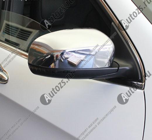 Накладки на зеркала заднего вида Jeep Cherokee KL 2014+