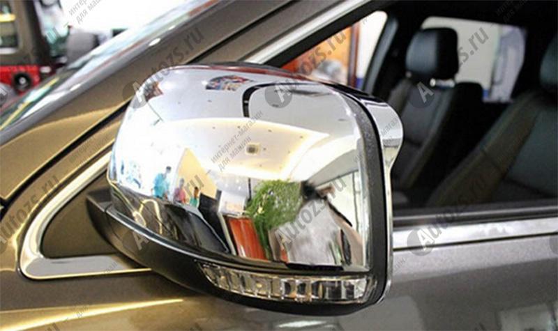 Накладки на зеркала заднего вида Jeep Grand Cherokee WK2 2013+