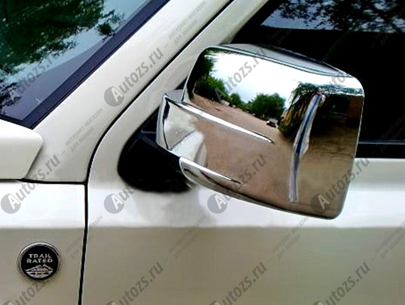 Купить со скидкой Накладки на зеркала заднего вида Jeep Patriot 2007-2015