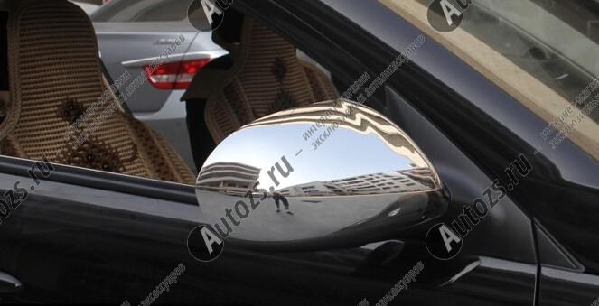 Накладки на зеркала заднего вида Kia Sportage 3 2010-2015 без фонарейХром накладки на зеркала<br>Использование накладок на зеркала придает автомобилю оригинальный и презентабельный вид, эффектно выделяя его из общего потока транспорта. Кроме того, плавные изгибы накладок повышают обтекаемость и улучшают аэро...<br>
