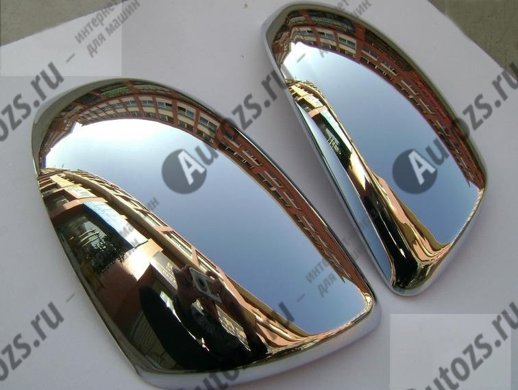 Накладки на зеркала заднего вида Mazda 3 BL 2009-2013 BХром накладки на зеркала<br>Использование накладок на зеркала придает автомобилю оригинальный и презентабельный вид, эффектно выделяя его из общего потока транспорта. Кроме того, плавные изгибы накладок повышают обтекаемость и улучшают аэро...<br>