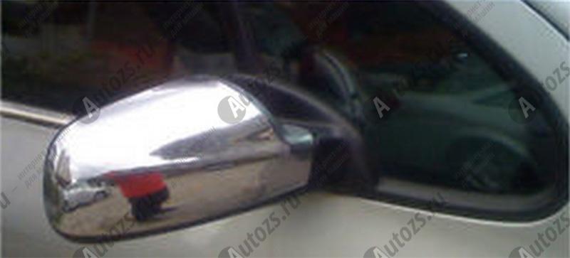 Купить со скидкой Накладки на зеркала заднего вида Peugeot 206 1998-2012