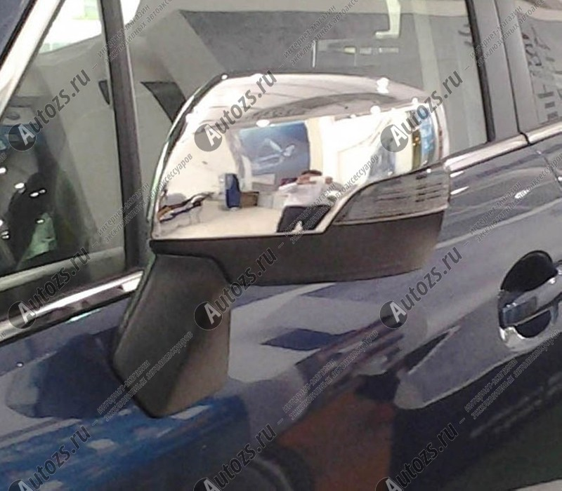 Накладки на зеркала заднего вида Subaru XV 2011+Хромированные накладки Subaru XV<br>Использование накладок на зеркала придает автомобилю оригинальный и презентабельный вид, эффектно выделяя его из общего потока транспорта. Кроме того, плавные изгибы накладок повышают обтекаемость и улучшают аэро...<br>