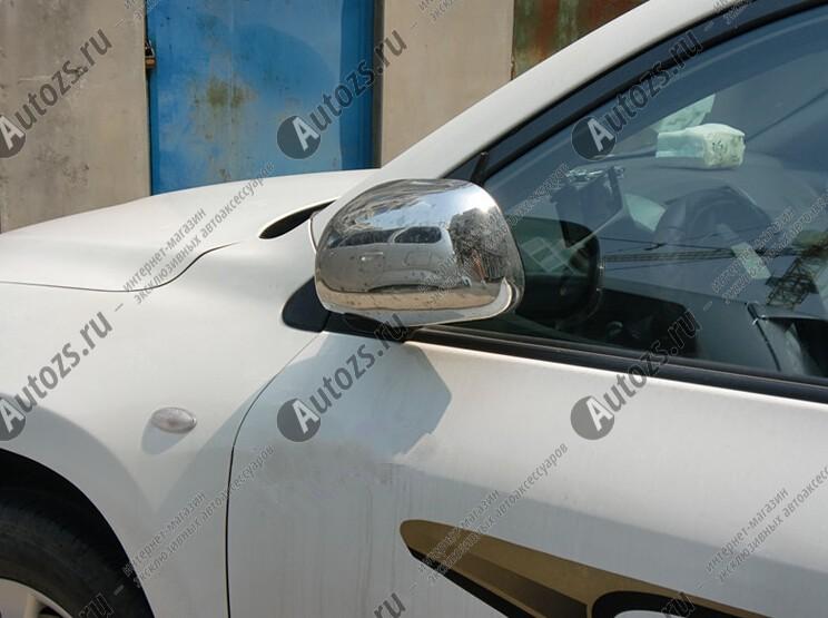 Фото #1: Накладки на зеркала заднего вида Toyota RAV 4 CA30 2006-2012
