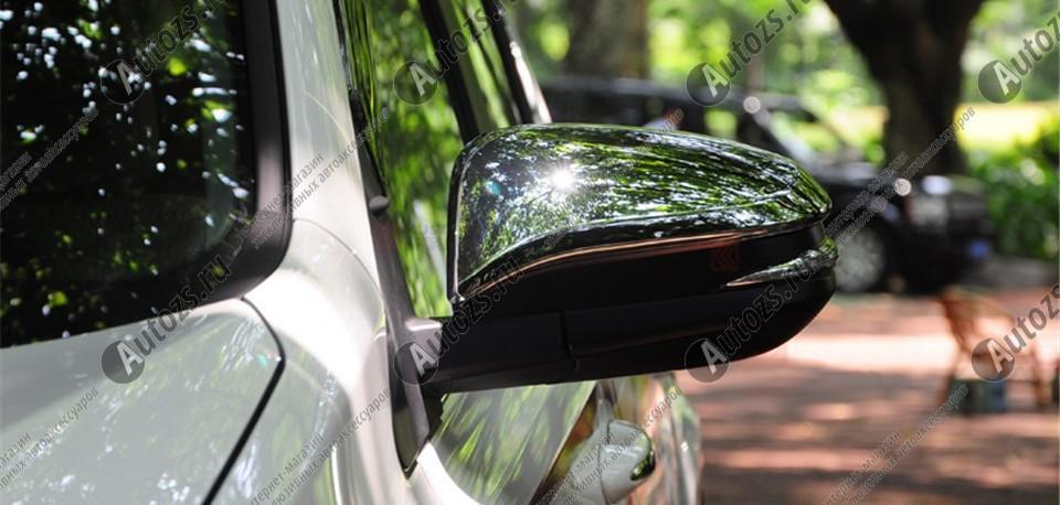 Накладки на зеркала заднего вида Toyota RAV 4 CA40 2013+Хромированные накладки Toyota RAV 4<br>Использование накладок на зеркала придает автомобилю оригинальный и презентабельный вид, эффектно выделяя его из общего потока транспорта. Кроме того, плавные изгибы накладок повышают обтекаемость и улучшают аэро...<br>