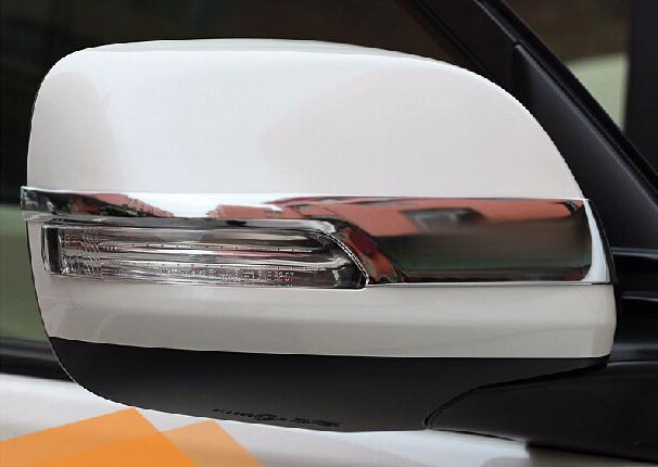 Купить со скидкой Накладки на зеркала заднего вида Toyota Land Cruiser Prado 150 2013+ B