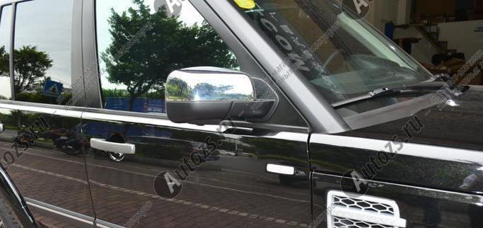 Накладки на зеркала заднего вида Land Rover Discovery 3 2005-2009