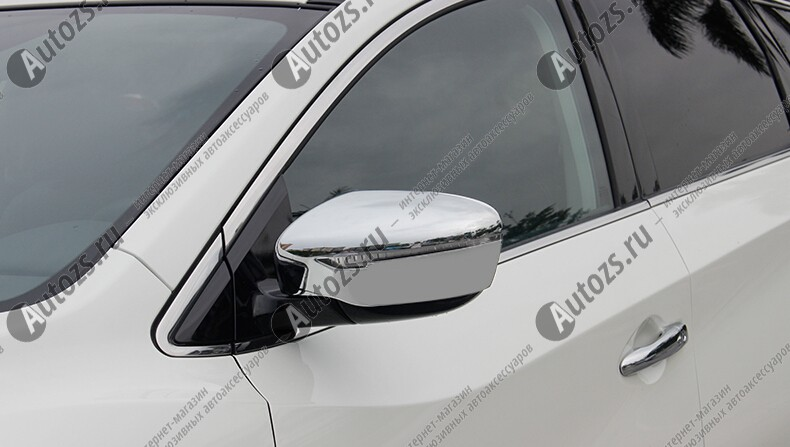 Накладки на зеркала заднего вида Nissan Murano Z52 2016+ B
