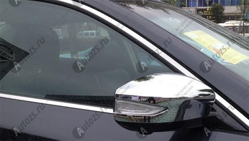 Купить Накладки на зеркала заднего вида Nissan Teana L33 2014+