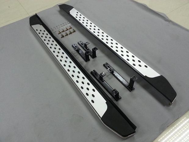 Купить со скидкой Пороги для Toyota RAV 4 CA40 2013+ нержавеющая сталь