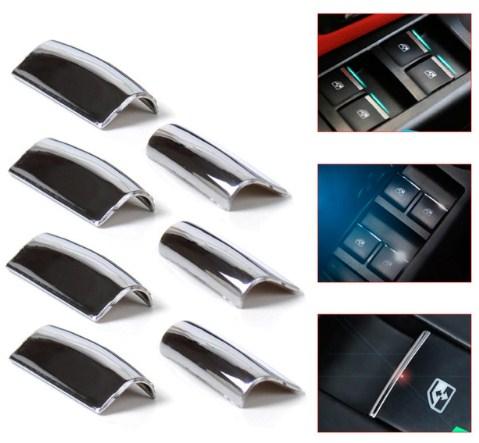 Декоративные накладки на кнопки стеклоподъемника ToyotaХромированные накладки Toyota Yaris<br>Декоратинвные молдинги используются для украшения панели приборов, салона и т.д.<br><br><br>Простая и легкая установка (все в комплекте):<br><br><br>Очистить поверхность, куда будут устанавливаться накладки.<br><br>Снять скочт с накла...<br>